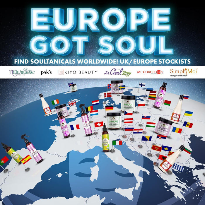 Int'l Soulfam! Europe Got Soul! Shop Online Here!