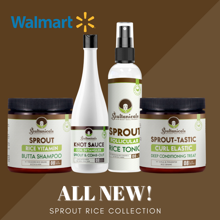 Soultanicals New Collection is Exclusively Available at select Walmart Stores Nationwide!
