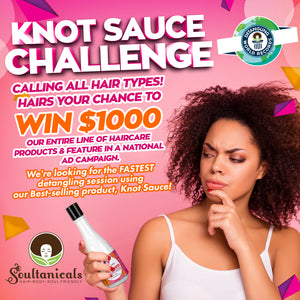 Join the Knot Sauce Challenge today! Win $1,000 and other prizes!