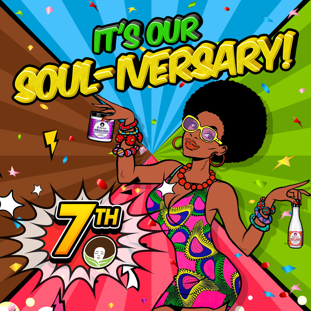 It's our Soul-iversary! 7 years of Soul!!!