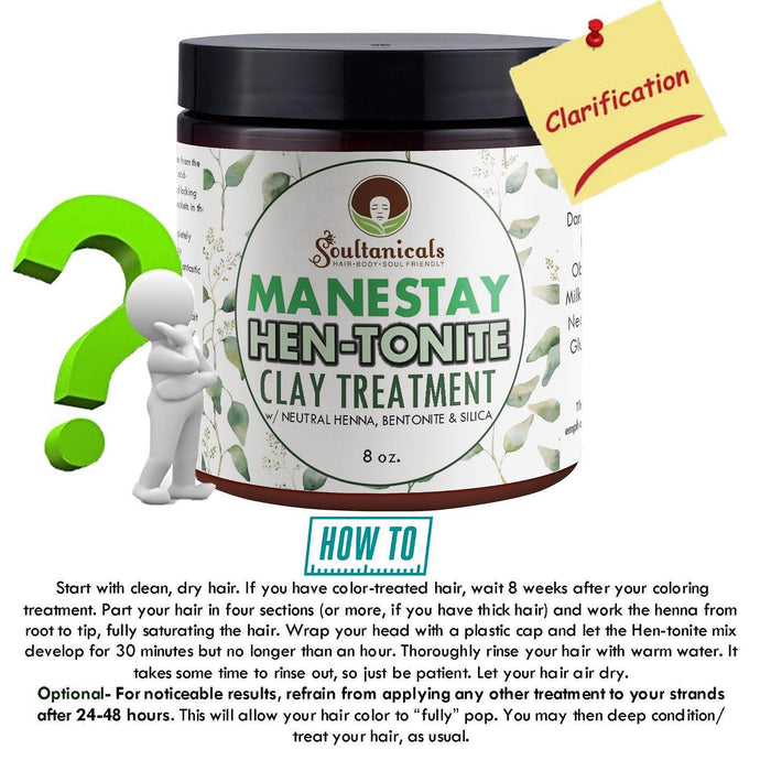 HOW TO:  Manestay Hentonite Clay Product Use!