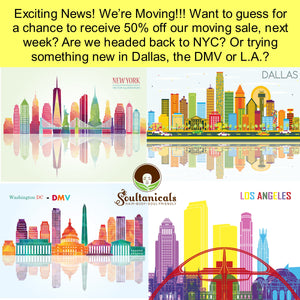 We're Moving!!! Guess where we're headed to?