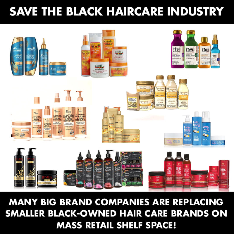 Save The Black Hair Care Industry Soultanicals