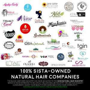 100% Sista-Owned Natural Hair Companies!