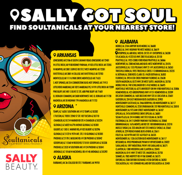 Sally Beauty Store Locations – Soultanicals