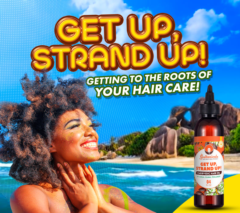 Get Up, Strand Up! Caribvedic Hair Oil