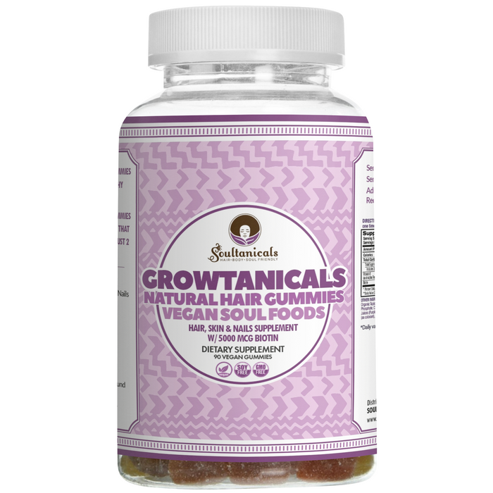 Growtanicals- Vegan Natural Hair Gummies (GMO Free)