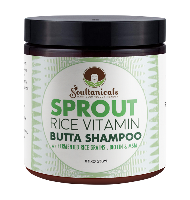Sprout- Rice Vitamin Butta Shampoo- SALON SIZE