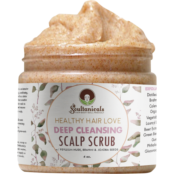 Healthy Hair Love, Deep Cleansing Scalp Scrub