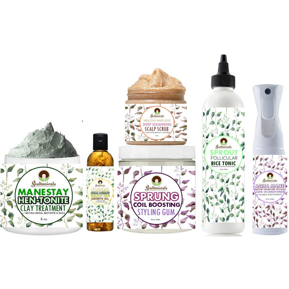 COILEMENTS- Spring Natural Hair Care Bundle
