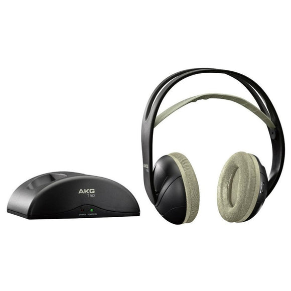 AKG K912 Stereo Wireless Bluetooth Over-Ear Cushioned Headphones (Black)