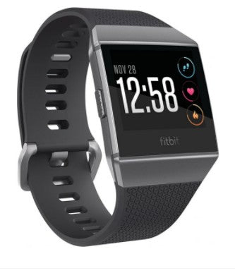 Fitbit Ionic Smartwatch (Charcoal/Smoke Gray)