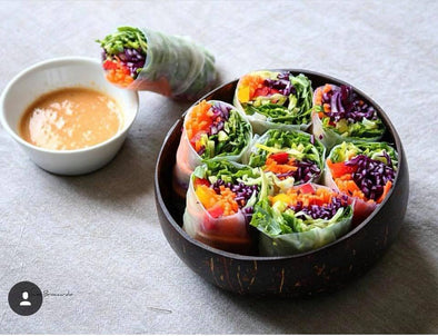 Rice Paper Rolls - Just add your favourite protein