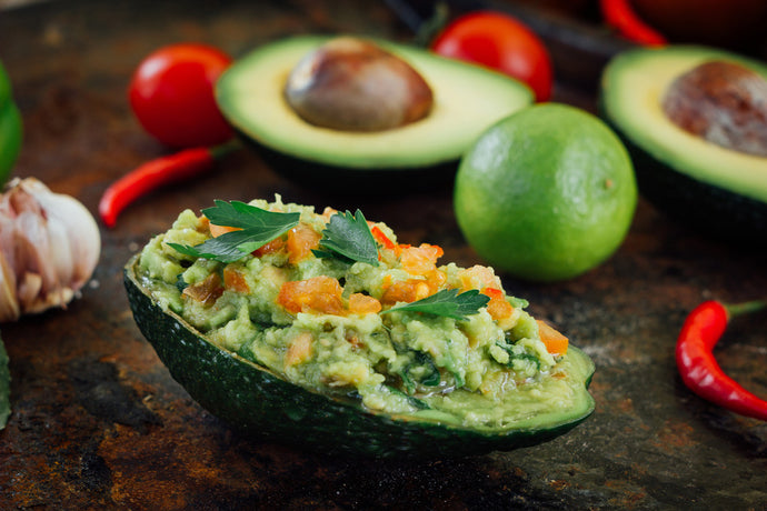 Delicious Salsa Avocado Boats