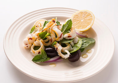 Summer Calamari Salad with a Little Kick