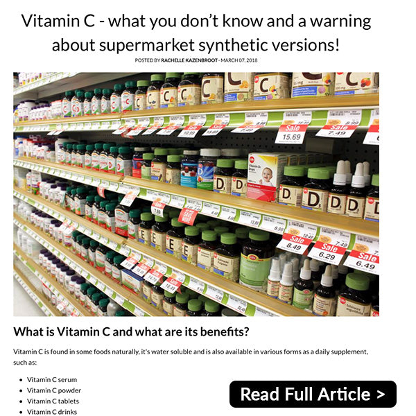 Related Vitamin C Article