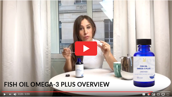 Fish Oil Omega-3 Plus Product Overview Video