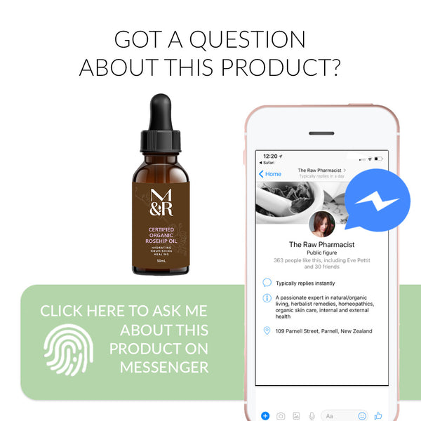 Ask me a question about Organic Rosehip Oil Now