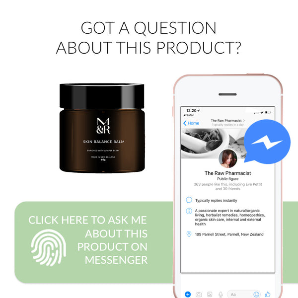 Ask me a question via messenger about Skin Balance Balm