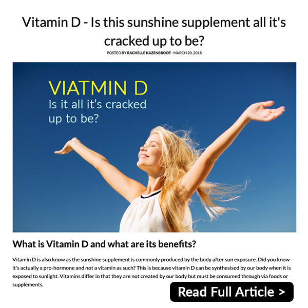 Vitamin D is this sunshine supplement all it's cracked up to be? [article]