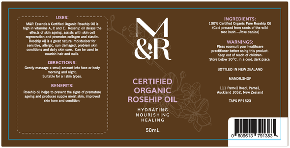 Certified Organic Oils - Organic Rosehip Oil - Restores A Healthy Glow To The Skin And Fantastic For Healing Surgery Scars!