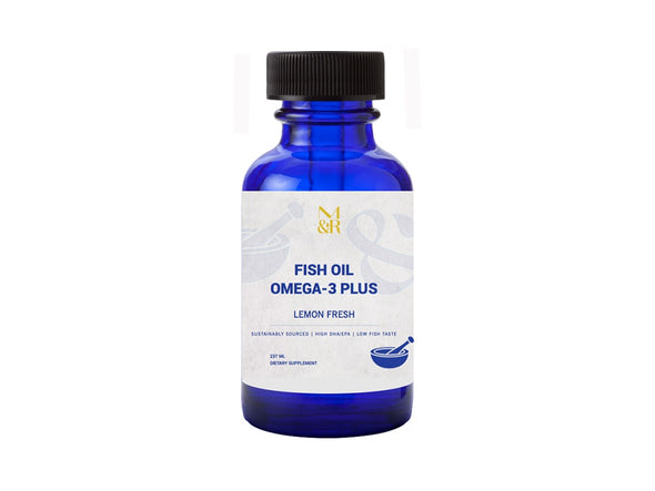 Natural Supplements - Fish Oil Omega-3 Plus
