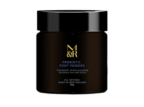 Organic And Natural Skin Care - Probiotic Foot Powder