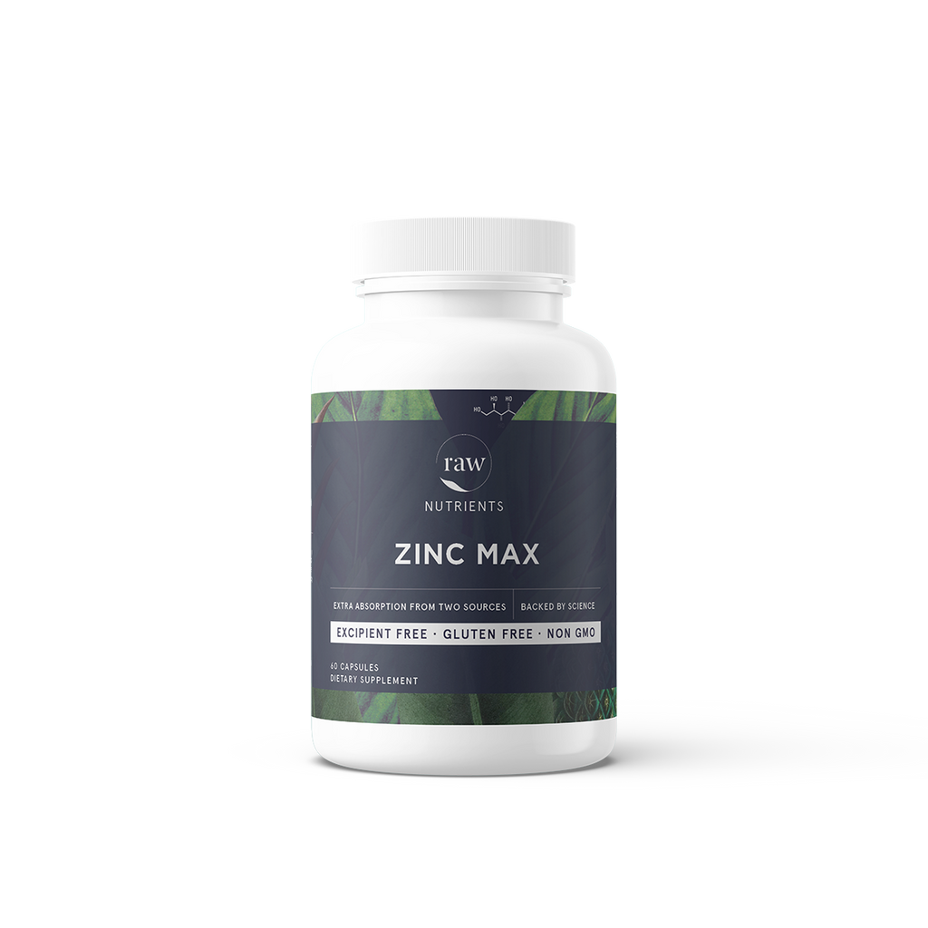 Raw Nutrients Zinc Max