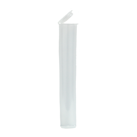 116 mm Pre-Roll Tubes Child Resistant Clear - 600 units
