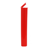 116 mm Pre-Roll Tubes Child Resistant Translucent Red - 600 units - weed packaging and beyond