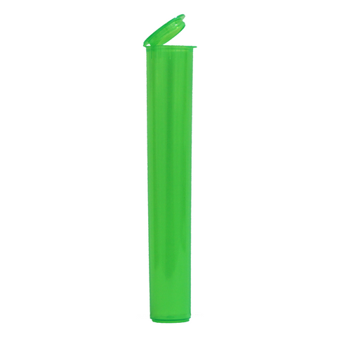 116 mm Pre-Roll Tubes Child Resistant Translucent Green - 600 units