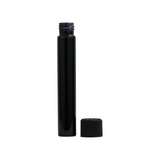 120 mm Glass Pre-Roll Tubes Child Resistant All Black - 100 units - weed packaging and beyond