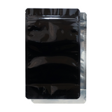 1/2 Ounce Mylar Barrier Bags Black/Clear - 100 units - weed packaging and beyond