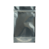 1/2 Ounce Mylar Barrier Bags Kraft/Clear - 100 units - weed packaging and beyond