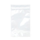 1/2 Ounce Mylar Barrier Bags White/Clear - 100 units - weed packaging and beyond