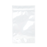 1/2 Ounce Mylar Barrier Bags White - 100 units - weed packaging and beyond