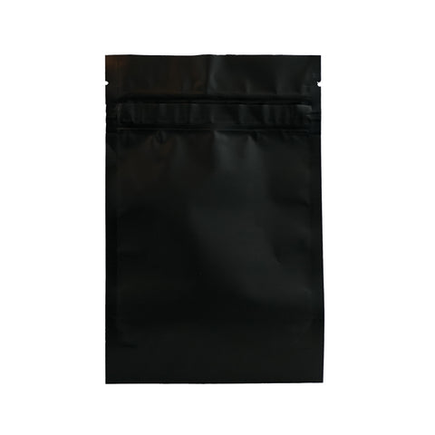 1/2 Ounce Child Resistant Barrier Bags Black - 100 units - weed packaging and beyond
