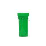 13 Dram Reversible Cap Vials Child Resistant Green - 275 units - weed packaging and beyond