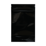 1/4 Ounce Mylar Barrier Bags Black/Clear - 100 units - weed packaging and beyond