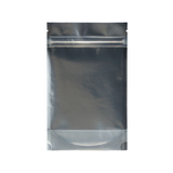 1/4 Ounce Mylar Barrier Bags Kraft/Clear - 100 units - weed packaging and beyond