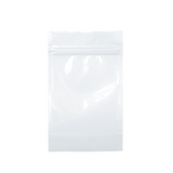 1/4 Ounce Mylar Barrier Bags White - 100 units - weed packaging and beyond