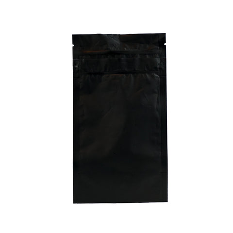 1/4 Ounce Child Resistant Barrier Bags Black - 100 units - weed packaging and beyond