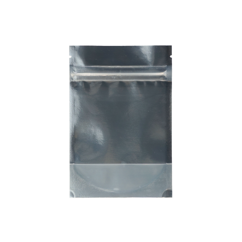 1/8 Ounce Mylar Barrier Bags Kraft/Clear - 100 units – weed