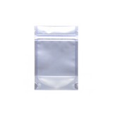 1/8 Ounce Mylar Barrier Bags White/Clear - 100 units - weed packaging and beyond