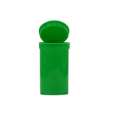 19 Dram Pop Top Bottles Child Resistant Green - 225 units - weed packaging and beyond