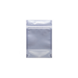 1 Gram Mylar Barrier Bags White/Clear - 100 units - weed packaging and beyond