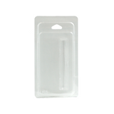 1 ml Cartridge Plastic Clamshells - 100 units - weed packaging and beyond