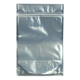 1 Ounce Mylar Barrier Bags Black/Clear - 100 units - weed packaging and beyond