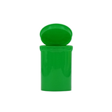 30 Dram Pop Top Bottles Child Resistant Green - 150 units - weed packaging and beyond