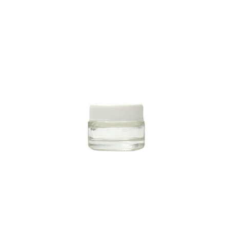 5 ml Glass Concentrate Containers White - 100 units - weed packaging and beyond